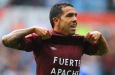 Tevez can spark more City glory, says Mancini