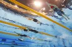 Man in court for spying on Chinese swimmers