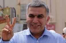 Bahrain activist jailed for three years