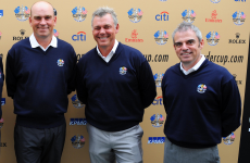 Clarke, McGinley and Bjorn named as European Ryder Cup vice-captains