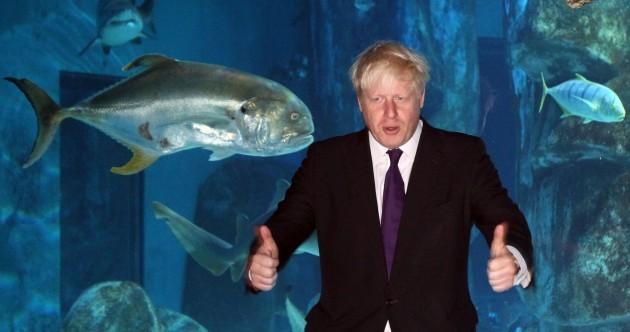 In pics: Boris Johnson's cod complex