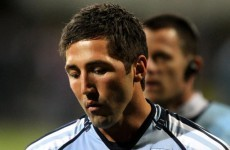 Gavin Henson suffers suspected fractured cheekbone in friendly