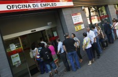 Spanish unemployment rises again to creep towards 25 per cent