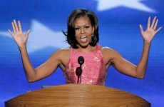 He's her man: First Lady praises husband Barack Obama during prime-time speech