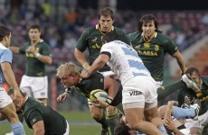 Pienaar one of three Springbok changes for trip to Australia