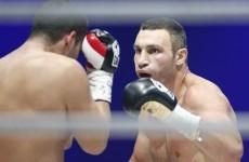 Klitschko defends WBC heavyweight title