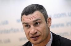 Charr protest leaves Klitschko bewildered