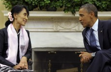 Aung San Suu Kyi awarded with the US Congress' highest civilian honour