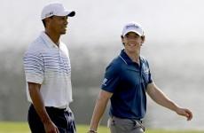 Tiger, Rose share lead at PGA Tour Championship