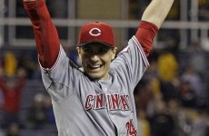 A dude called Homer Bailey bagged a no-hitter as the Cincinatti Reds edged Phillies