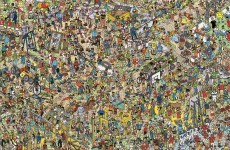 Where's Stevie? England stars feature in Where's Wally 25th anniversary poster