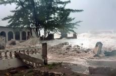 Hurricane Sandy strikes Cuba, Jamaica