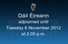 VIDEO: TDs agree to give themselves next week off