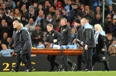 Micah Richards ruled out until Christmas