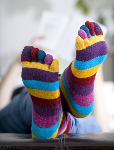The burning question*: Is it okay to wear socks in bed?