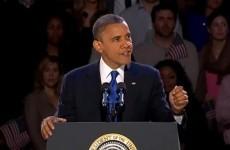 Video: President Barack Obama's victory speech in full