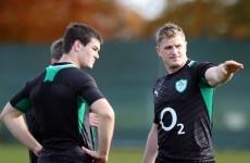 New direction: Faith shown in Heaslip as the man to lead Ireland forward