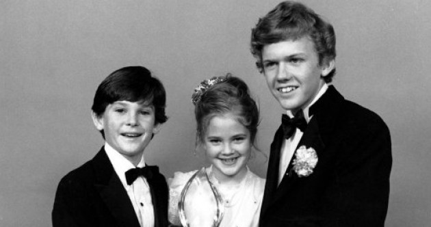 Happy 30th ET! Here's a very young Henry Thomas and Drew Barrymore