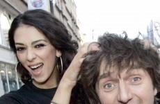 21 odd photos of Georgia Salpa putting her hand on things