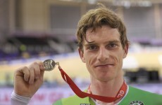 Martyn Irvine wins silver medal at Track World Cup in Glasgow