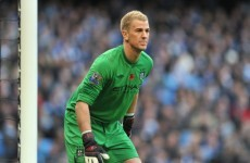 City boss Roberto Mancini not afraid to drop Joe Hart