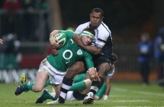 Fergus McFadden hopes two-try performance will earn starting role against Pumas