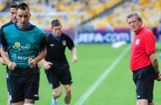 Roy Hodgson is so over the Ferdinand, Terry debate