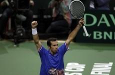 Czech Mate: Stepanek beats Almagro to seal Davis Cup win