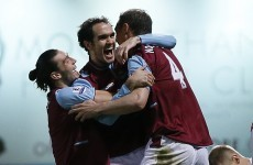 Report: O'Brien's first Premier League goal earns Hammers a point