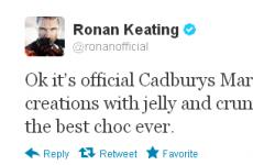 Tweet Sweeper: Ronan Keating makes the tough decisions