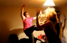 VIDEO: High kick fail ends in pain, embarassment