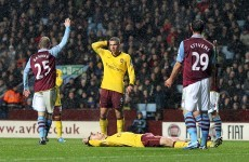Premier League: Aston Villa hold Arsenal to scoreless draw
