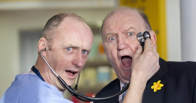 Caption competition: What's going on in George Hook's head?