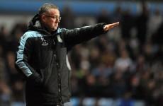 Villa boss Lambert defends dropping striker Darren Bent