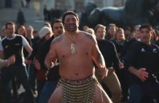 VIDEO: Haka flashmob hits Trafalgar Square