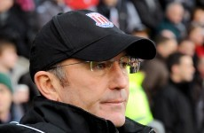 Pulis issues hands-off warning