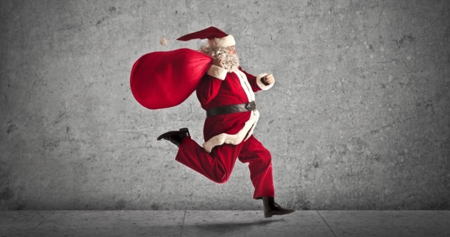 The burning question*: Santa or Santy?