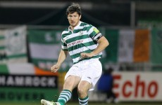 Ken Oman pens new deal with Shamrock Rovers