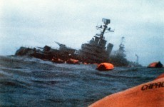 Falklands War: Irish response to Belgrano sinking drew British anger