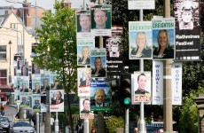Department insists early election posters are illegal