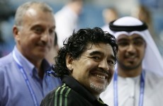 Maradona wants to coach Iraq at the World Cup in Brazil