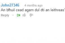 Ireland's sporting year in half a dozen YouTube comments