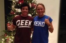 Snapshot: 'Geek' and 'nerd' Wozilroy exchange Christmas gifts