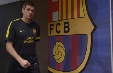Vilanova can return to work soon, says Barcelona