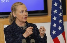 Hillary Clinton hospitalised with blood clot