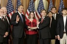 New US Congress sworn in ahead of tough spending talks