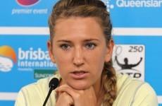 Victoria Azarenka blames 'bad pedicure' for withdrawal in Brisbane