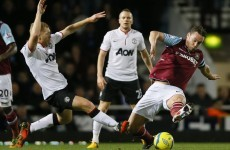 As it happened: West Ham v Manchester United, FA Cup 3rd round