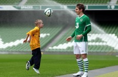 Kevin Doyle happy with the distraction