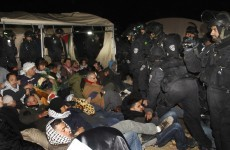 Photos: Israel evicts Palestinians from West Bank protest site
